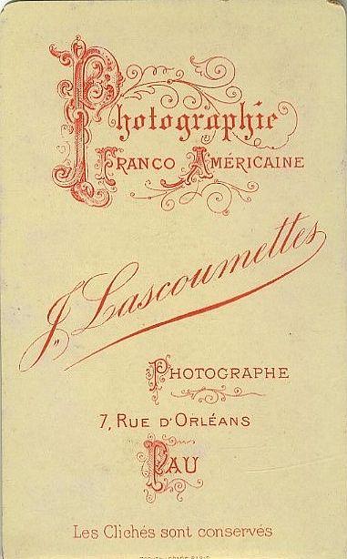 J. LASCOUMETTES - Pau, Pyrénées-Atlantiques
