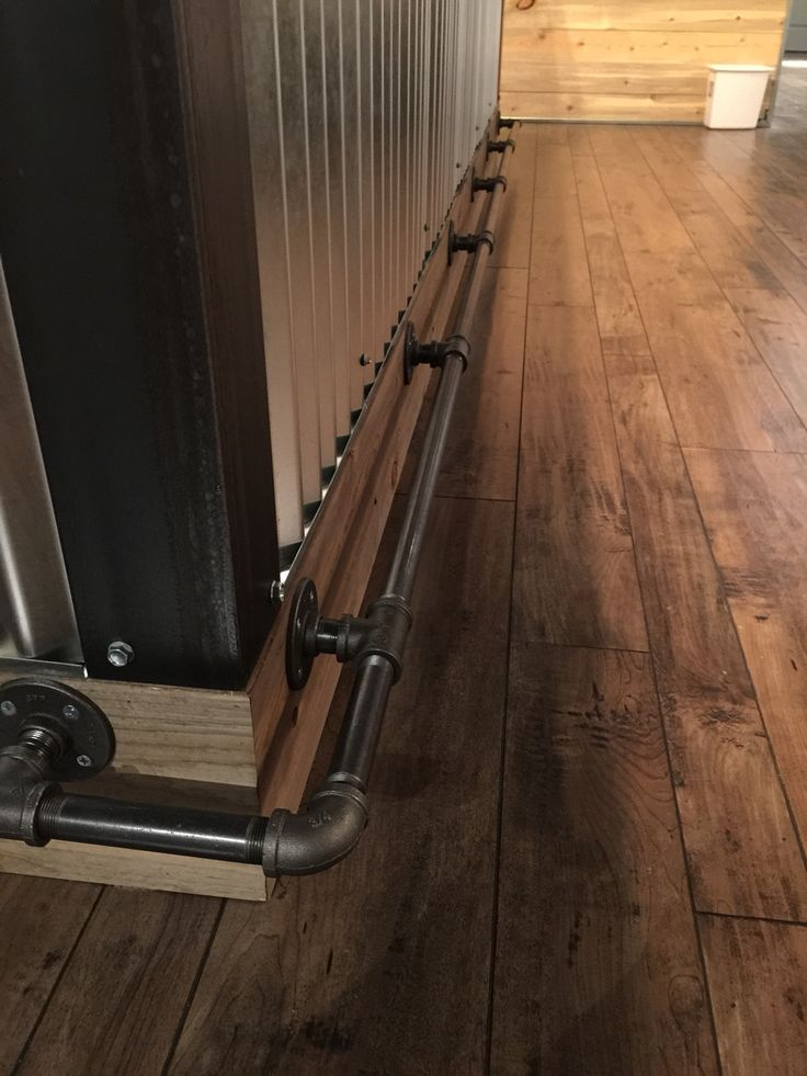 Gas pipe foot rest. Lafayette, CO