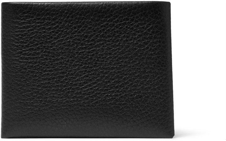 Maison Margiela Mafia Grained-Leather Billfold Wallet