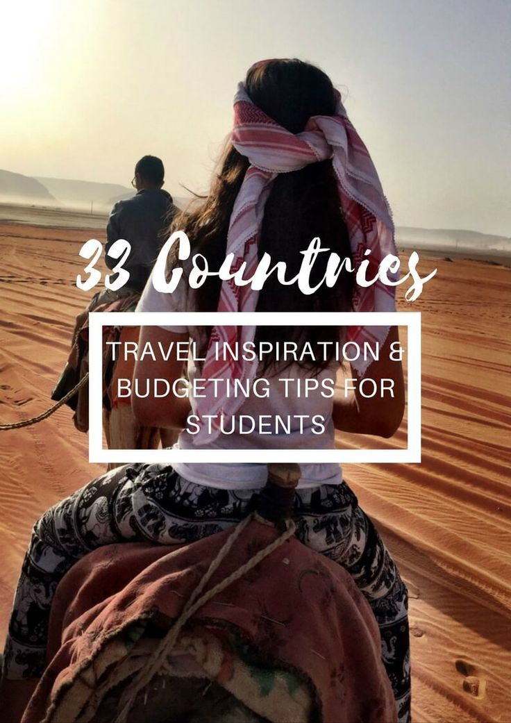 Traveling as a student may seem almost impossible to some. Between the cost of all the student loans, study commitments and lack of…