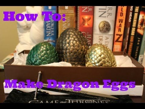Quick & easy game of thrones Dragon Eggs tutorial. Tag me on google+/instagram/any social media to let me see the results! Subscribe for more: https://www.yo...