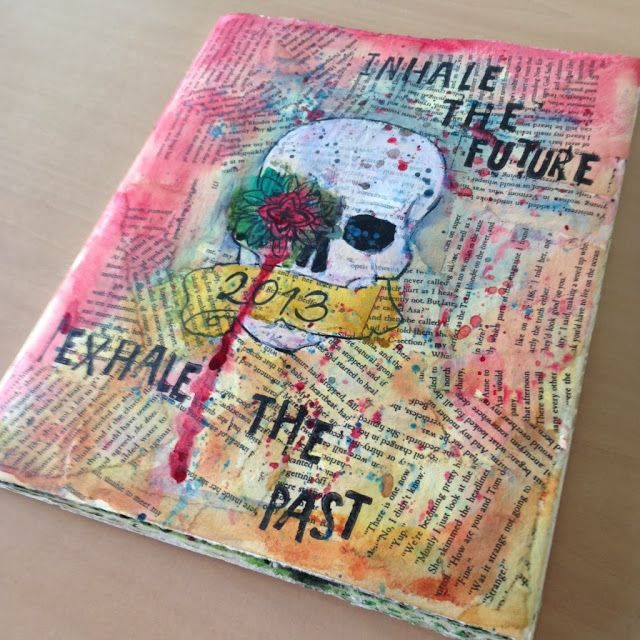 Art Journal Covers Ideas
