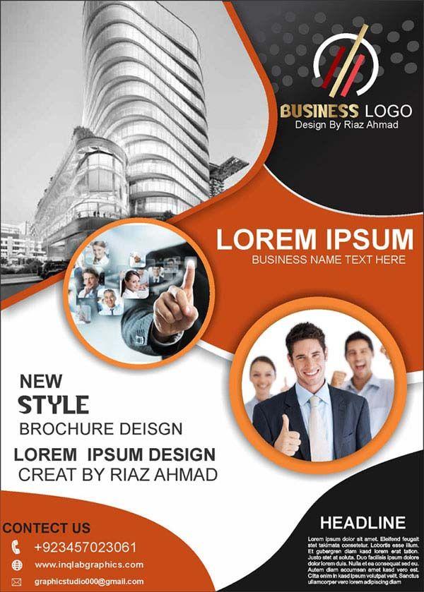 Download Template Cdr : download, template, Brochure, Design,, Photo, Download, Professional, Design