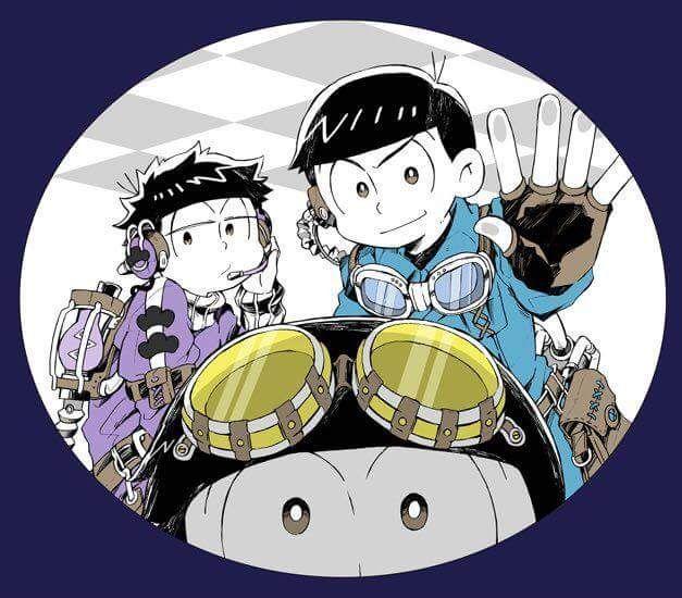 Osomatsu-san Characters:Karamatsu/Ichimatsu/Juushimatsu