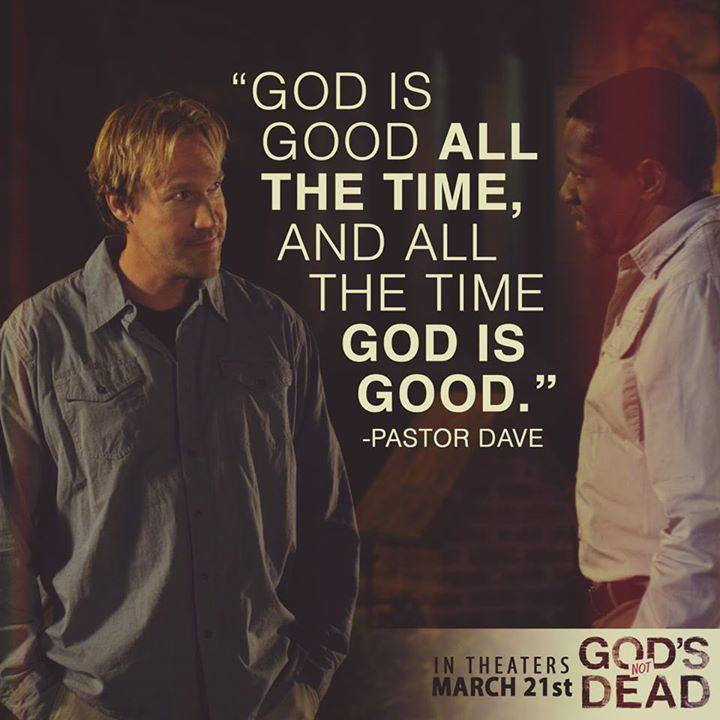 God's Not Dead - David A.R. White as (Pastor Dave) in God's Not Dead the movie in theaters March 21, 2014 - Pure Flix - Christian Movies  www.PureFlix.com www.GodsNotDead.com