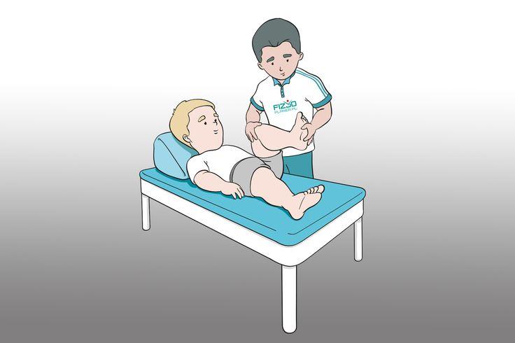 fizjoterapeuta i pacjent