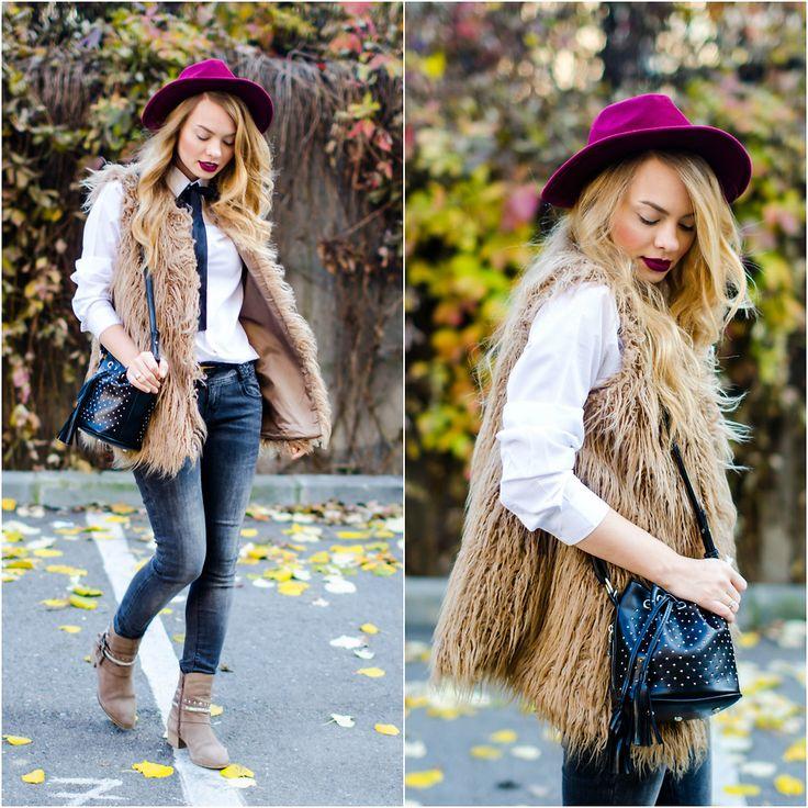 Julie P. - The fur vest