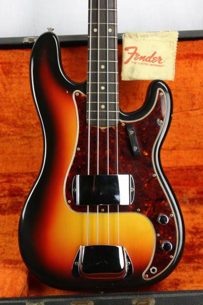 1965 Sunburst Fender Precision Bass                                                                                                                                                      More