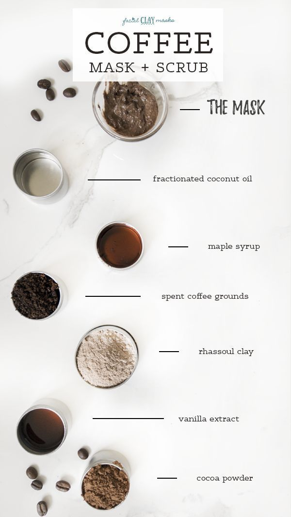 Recycled Coffee Beans In My Skincare Absolutely Coffee Face Mask Rhassoul Clay Coffee Mask