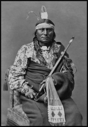 Gall. 1840-1894. He was a great warrior and became a war chief in his twenties. Leading the Lakota in their long war against the US, he served with Sitting Bull during several battles, including the famous Battle of the Little Bighorn in 1876. A modern reassessment of the Battle of Little Bighorn has given Gall greater credit for several crucial tactical decisions that contributed to the Sioux and Cheyenne's defeat of the five companies of cavalry led by Custer of the 7th Cavalry.