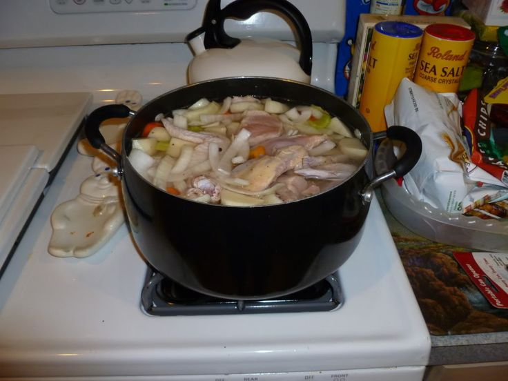CHICKEN SOUSE, New Year's Day fare
