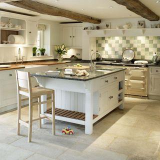 Natural Stone Floors Kitchen