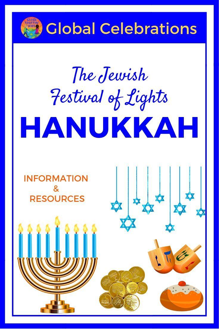 Hanukkah The Jewish Festival Of Lights Globe Trottin Kids Jewish Festival Of Lights Festival Lights Hanukkah For Kids [ 1102 x 735 Pixel ]