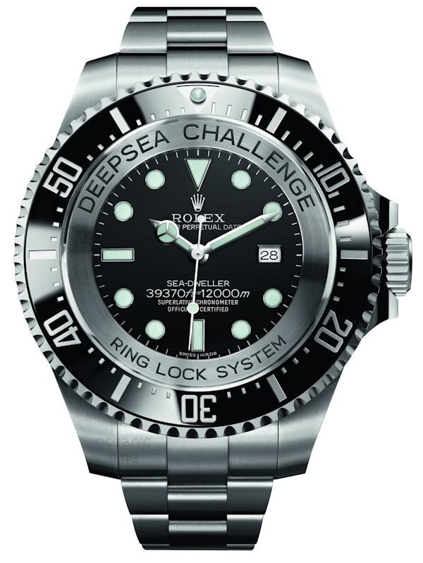 mens designer watches breitling 9u2o  Rolex Deepsea Challenge Watch