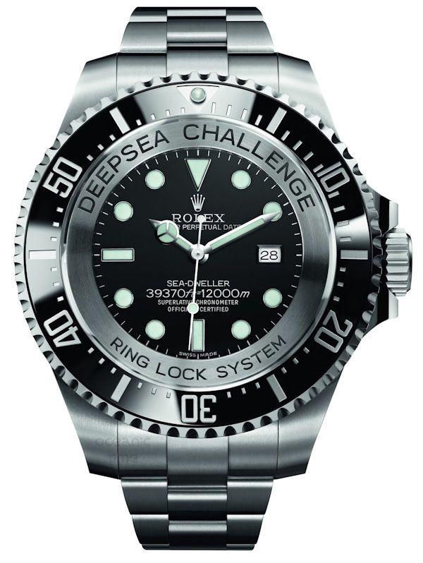mens designer watches breitling 9u2o  Rolex Deepsea Challenge Watch