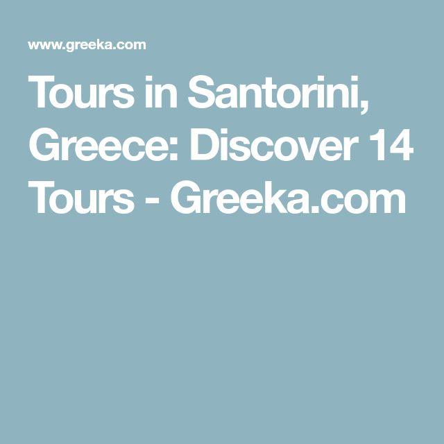 Tours in Santorini, Greece: Discover 14 Tours - Greeka.com
