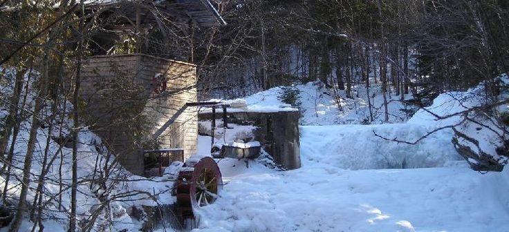 Moulin sur le ruisseau Old Mill