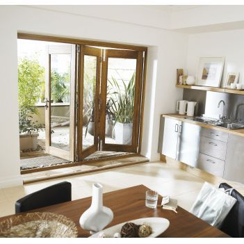 Folding patio door - want this along the back of the house. Easy to open and gives tons of light.