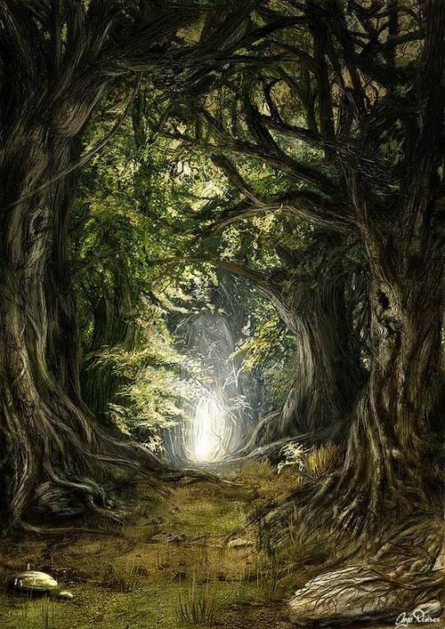 *DEEP IN THE WOODS ~ by Inga Nielsen | Fairy | Pinterest ...