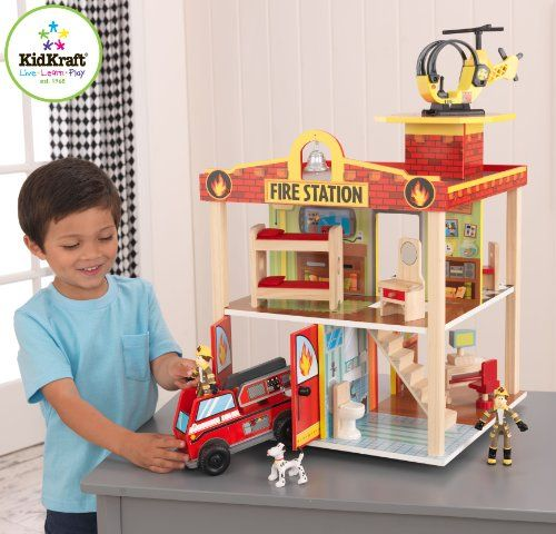 Kidkraft Fire Station Set  http://www.thecoiffeur.com/kidkraft-fire-station-set-3/