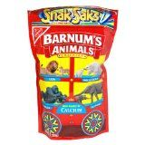 "Barnum's Animal Crackers, 8-Ounce Snak-Saks (Pack of 12)...Using them as icebreakers: ""How are you like that animal?"""