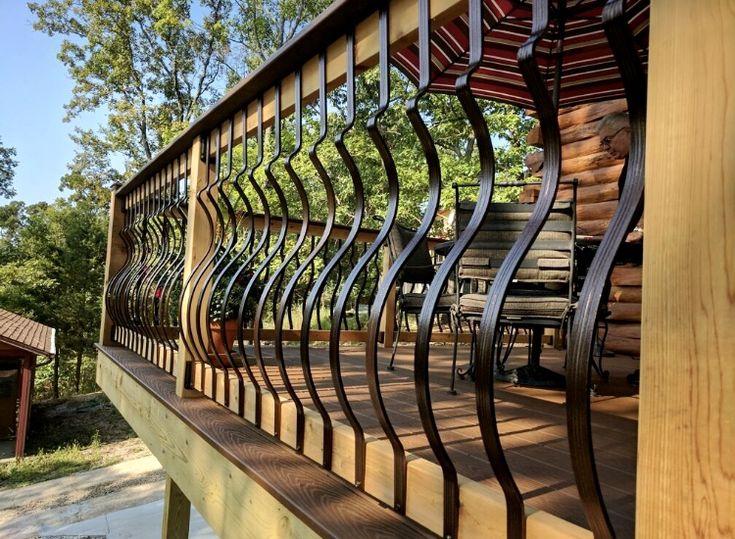 Best Curved Balusters Railing Aluminum Railing Glass Railing 640 x 480