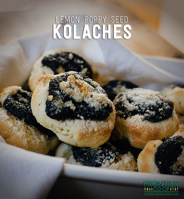 ... to get enough when you serve up this Lemon Poppy Seed Kolache recipe