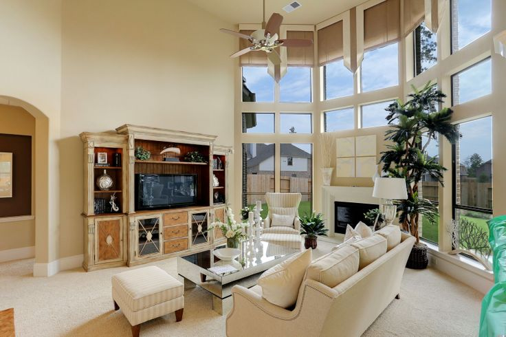 Model Home Living Room the westin homes model in eagle springs | living room | pinterest
