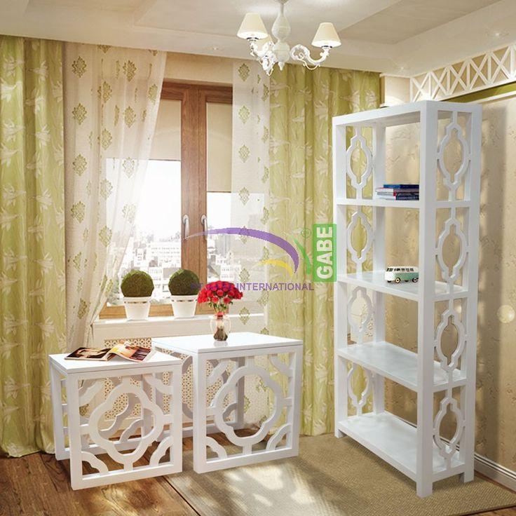 #rackbook #bookrack and #nestoftable #moroccan #style #solidwood #mahogany #handmade #handcrafted #paintedfuniture #whitefurniture #furniture #furniturebali #furnituretoday by www.gabeart.com