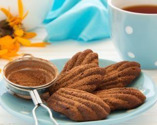 Madeleines au chocolat en poudre simples et rapides^: http://www.fourchette-et-bikini.fr/recettes/recettes-minceur/madeleines-au-chocolat-en-poudre-simples-et-rapides.html