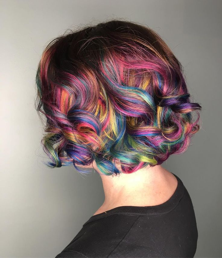 "1,486 Likes, 56 Comments - VANCOUVER BALAYAGE|VIVIDS (@elissawolfe) on Instagram: ""Taste theRainbow I used all @joicointensity colors mixed with their new metallics to give a more…"""