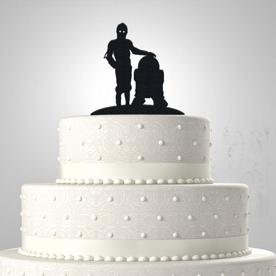 r2d2 wedding cake topper c3po and r2d2 cake topper by bee3dgifts starwars 18951