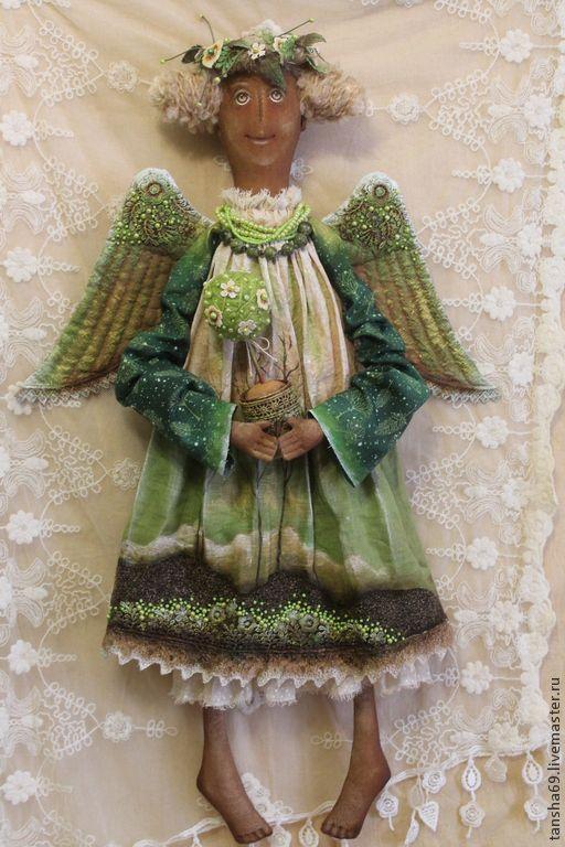 Коллекционные куклы ручной работы. Ярмарка Мастеров - ручная работа Дерево жизни...Ангел. Handmade.