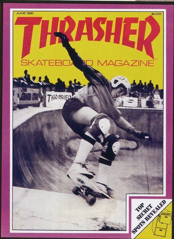 Jake Phelps - Thrasher Magazine- June 1981