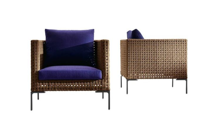 Armchair: CHARLES OUTDOOR – Collection: B&B Italia Outdoor – Design: Antonio Citterio