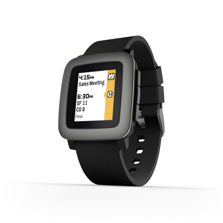 Pretty-Cool-Gadgets-pebble-Time-Smartwatch-Black
