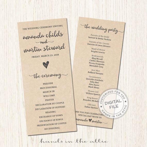 The 25 best ideas about Wedding Agenda – Wedding Agenda