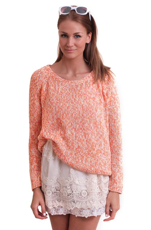 Twist & Tango - Anna Sweater Peach