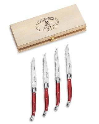 Laguiole Steak Knife Set #WilliamsSonoma  in ivory