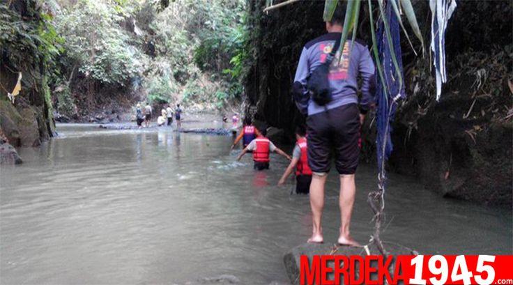 Mandi Di Sungai Kawasan Tabanan, Pemuda Surabaya Tewas Tenggelam
