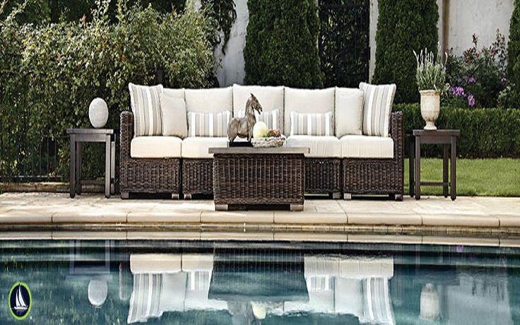 Outdoor Pool Greenfront Furniture Wicker Patio ~ http://lanewstalk.com/what-you-should-know-before-buying-greenfront-furniture/
