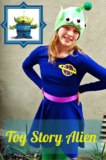 How to make your own Toy Story alien costume
