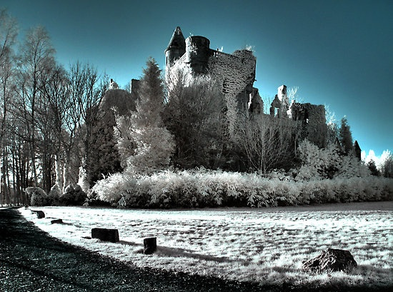 Buchanan Castle in Scotland... pretty much in ruins but would love to see it one day.