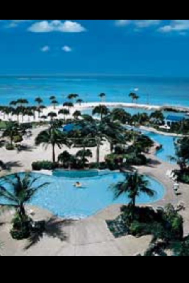Caribbean Map Aruba%0A Renaissance in Aruba       view from our hotel  swam here every