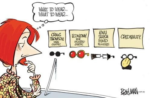 Gillard's glasses