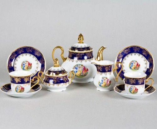 čajová souprava Marry Anne - Užitkový porcelán - Čajové soupravy