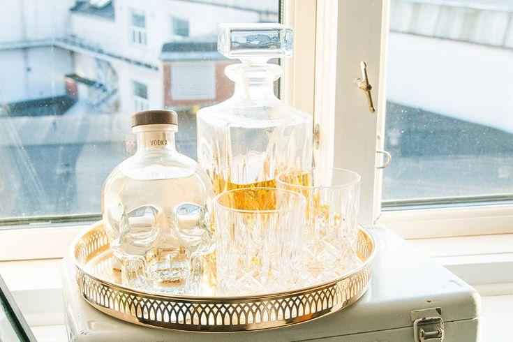 Brass&Gold - I min fönsterkarm. Whiskey.   Whiskey and drinks ...