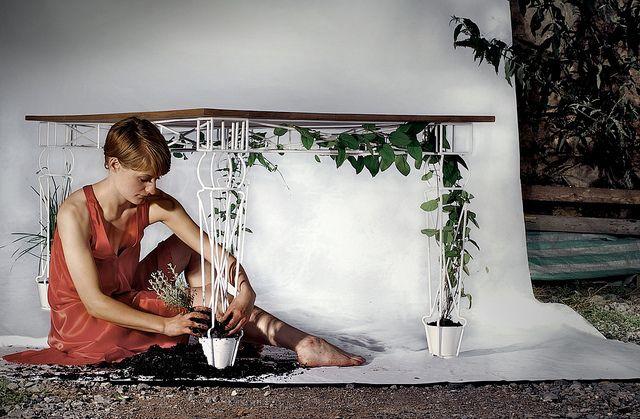 Ideas, Tables Legs, Green, Plants, Gardens, Outdoor Tables, Table, Patios Tables, Design