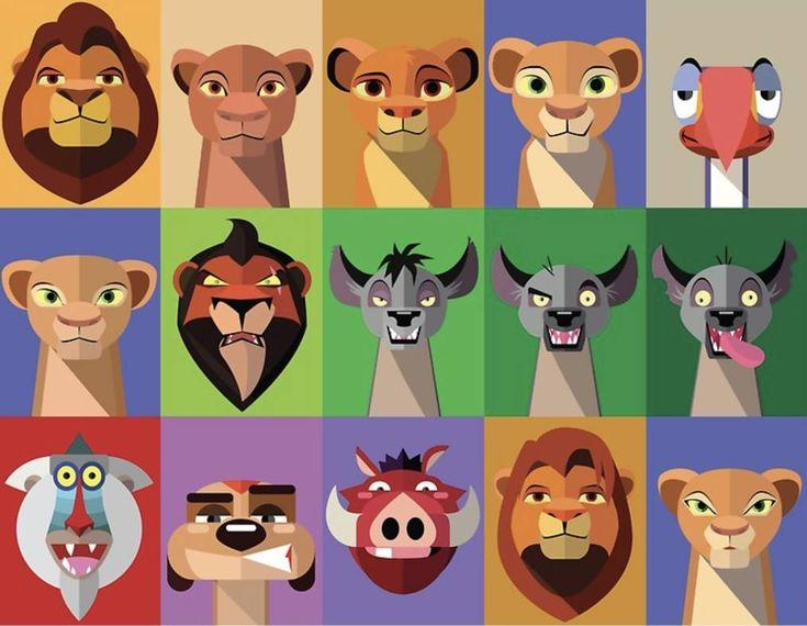 Король лев картинки с именами