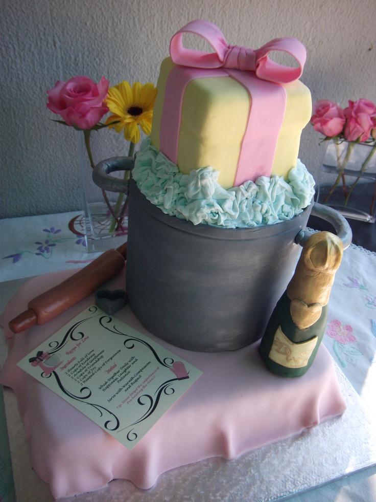 My beautiful Kitchen Tea cake <3